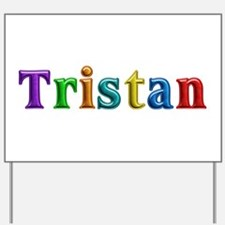 Tristan Shiny Colors Yard Sign