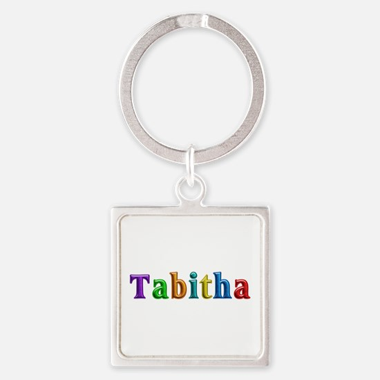 Tabitha Shiny Colors Square Keychain