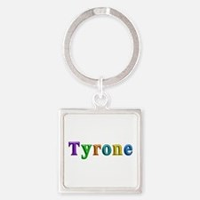 Tyrone Shiny Colors Square Keychain