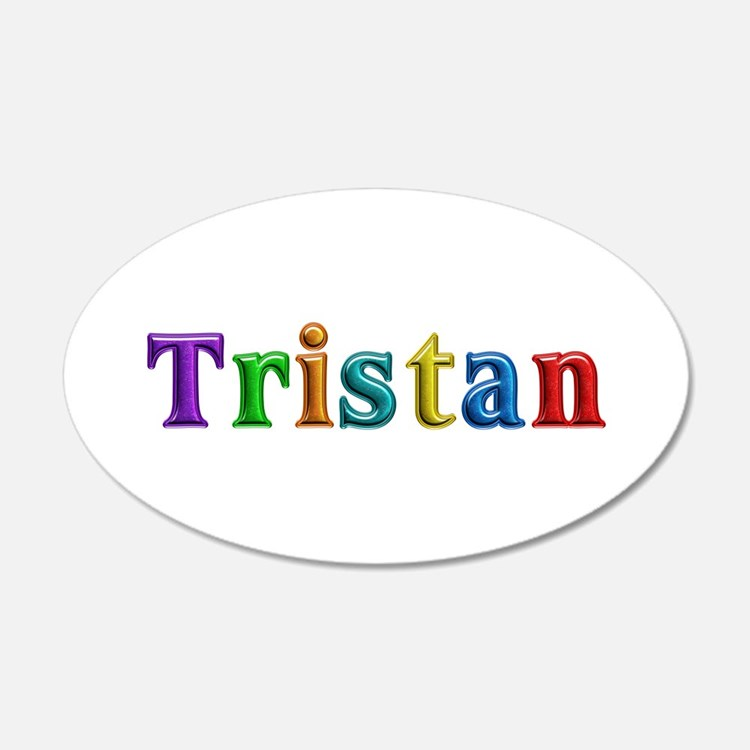 Tristan Shiny Colors Wall Decal