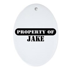 Property of Jake Oval Ornament