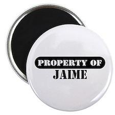 Property of Jaime Magnet