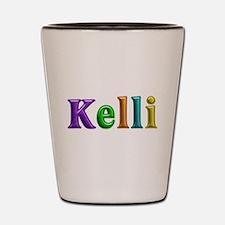 Kelli Shiny Colors Shot Glass