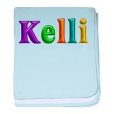Kelli Shiny Colors baby blanket