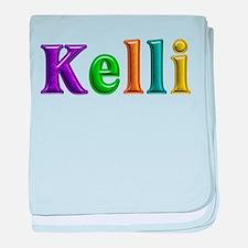 Kelli Shiny Colors baby blanket
