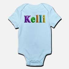 Kelli Shiny Colors Body Suit