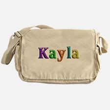 Kayla Shiny Colors Messenger Bag