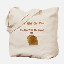Toast, The Girl on Fire Tote Bag