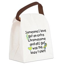 extra chromosome Canvas Lunch Bag