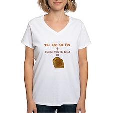Toast, The Girl on Fire Shirt
