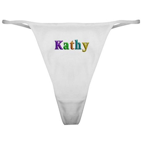 Kathy Shiny Colors Classic Thong