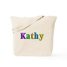 Kathy Shiny Colors Tote Bag