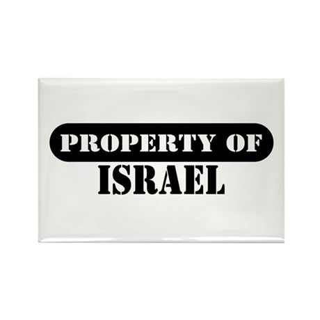 Property of Israel Rectangle Magnet (10 pack)