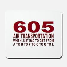 605 air trans Mousepad