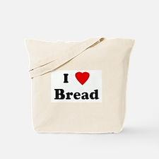 I Love Bread Tote Bag