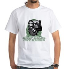 Drop Beats Not Bombs Abe Lincoln Quote Shirt