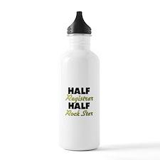 Half Registrar Half Rock Star Water Bottle