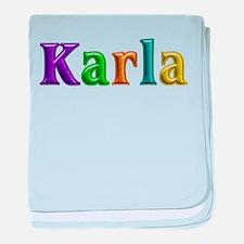 Karla Shiny Colors baby blanket