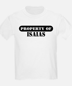 Property of Isaias Kids T-Shirt