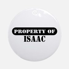 Property of Isaac Ornament (Round)