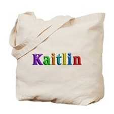 Kaitlin Shiny Colors Tote Bag