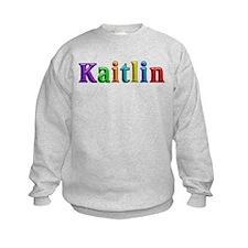 Kaitlin Shiny Colors Sweatshirt