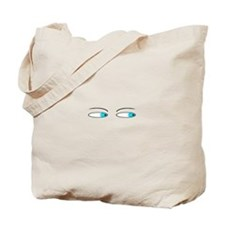Squinting Tote Bag