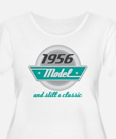 1956 Birthday Vintage Chrome T-Shirt