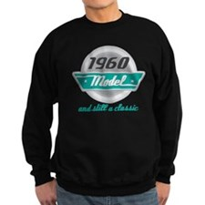1960 Birthday Vintage Chrome Sweatshirt