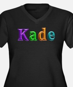Kade Shiny Colors Plus Size T-Shirt