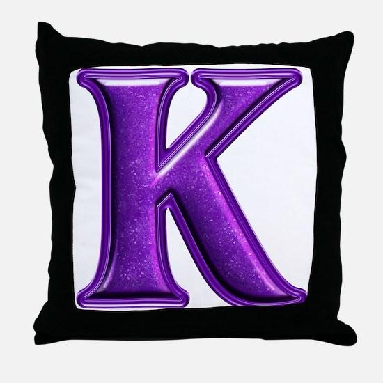 K Shiny Colors Throw Pillow