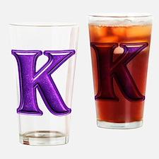 K Shiny Colors Drinking Glass