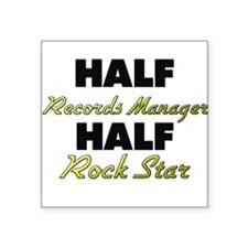 Half Records Manager Half Rock Star Sticker