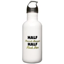Half Records Manager Half Rock Star Water Bottle