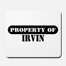 Property of Irvin Mousepad