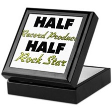 Half Record Producer Half Rock Star Keepsake Box