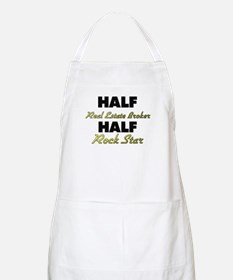 Half Real Estate Broker Half Rock Star Apron