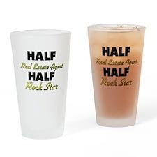 Half Real Estate Agent Half Rock Star Drinking Gla
