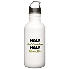 Half Real Estate Agent Half Rock Star Water Bottle