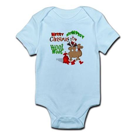 Merry Hump Day Christmas Infant Bodysuit