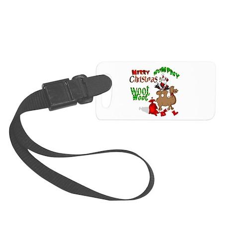 Merry Hump Day Christmas Small Luggage Tag