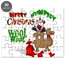 Merry Hump Day Christmas Puzzle
