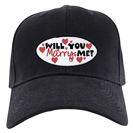 Will You Marry Me? Black Cap