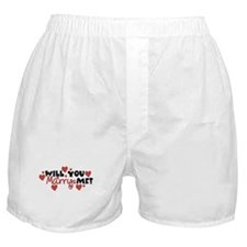 Will You Marry Me? Boxer Shorts