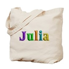 Julia Shiny Colors Tote Bag