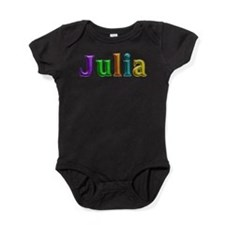 Julia Shiny Colors Baby Bodysuit