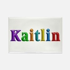 Kaitlin Shiny Colors Rectangle Magnet