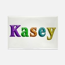 Kasey Shiny Colors Rectangle Magnet