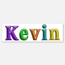 Kevin Shiny Colors Bumper Bumper Bumper Sticker