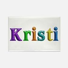 Kristi Shiny Colors Rectangle Magnet